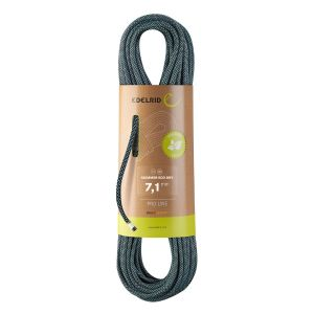 Skimmer Eco Dry 7,1mm Halbseil night 70 m