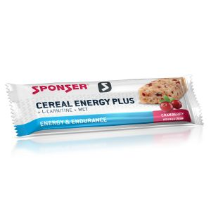 Cereal Energy Plus Bar Cranberry 40g Box a 15 Stück