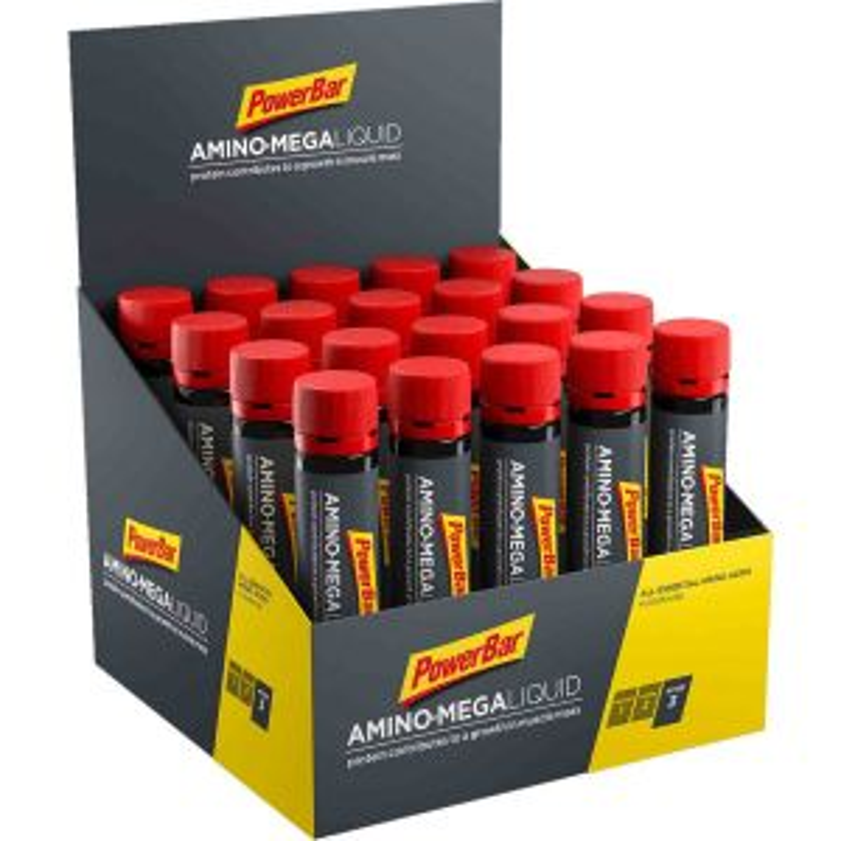 Amino Mega Liquid Box 20x25ml - Mindesthaltbarkeit 28/02/2022