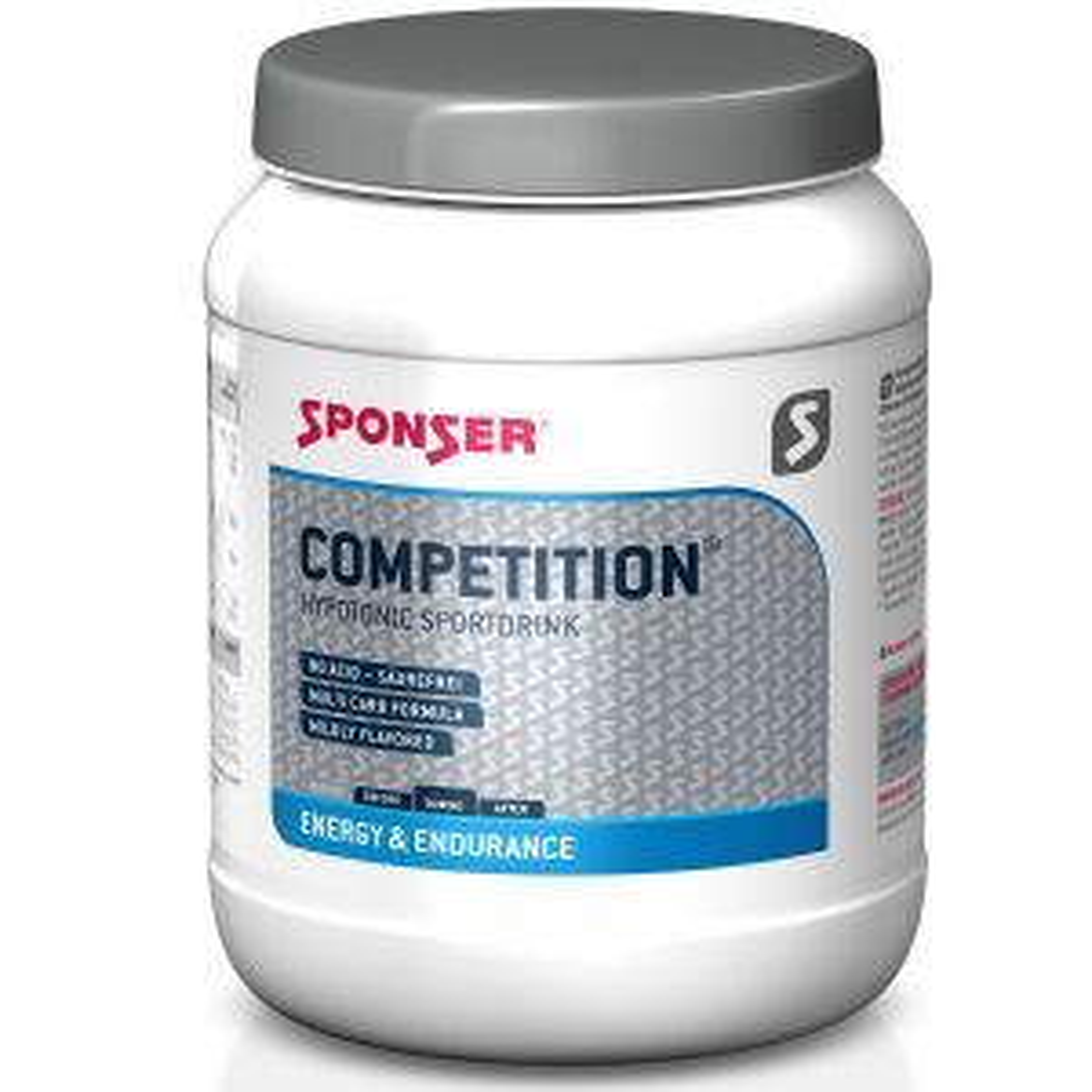 Competition Hypotonic Sportdrink 400g Himbeere - Mindesthaltbarkeitsdatum 07/2023