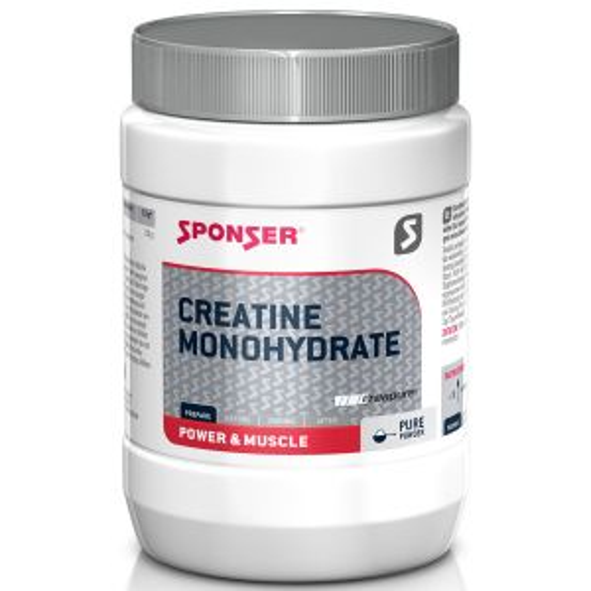 Kreatin Monohydrat Nahrungsergänzungsmittel 500g - Mindesthaltbarkeitsdatum 02/2023