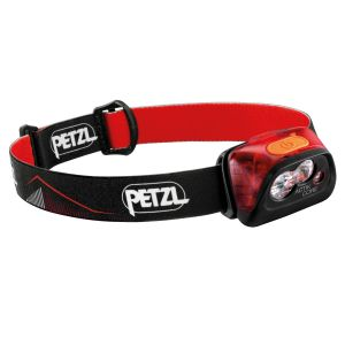 Stirnlampe Actik Core Rot 450 Lumen
