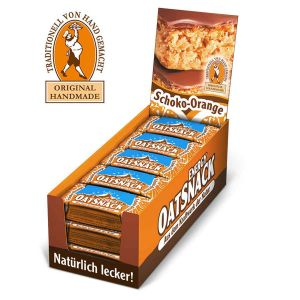 Energy Oatsnack Box 15x65g Energieriegel Powerriegel Schoko Orange - Mindesthaltbarkeit 25/09/2021