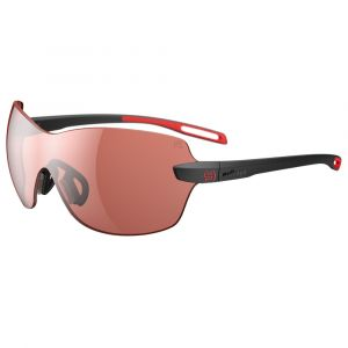 dlite-x Sportbrille LST® Schwarz Rot