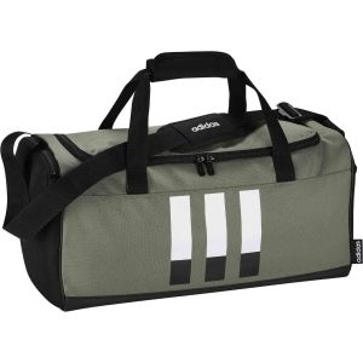 3-Streifen Duffelbag S Leggrn/Black/White