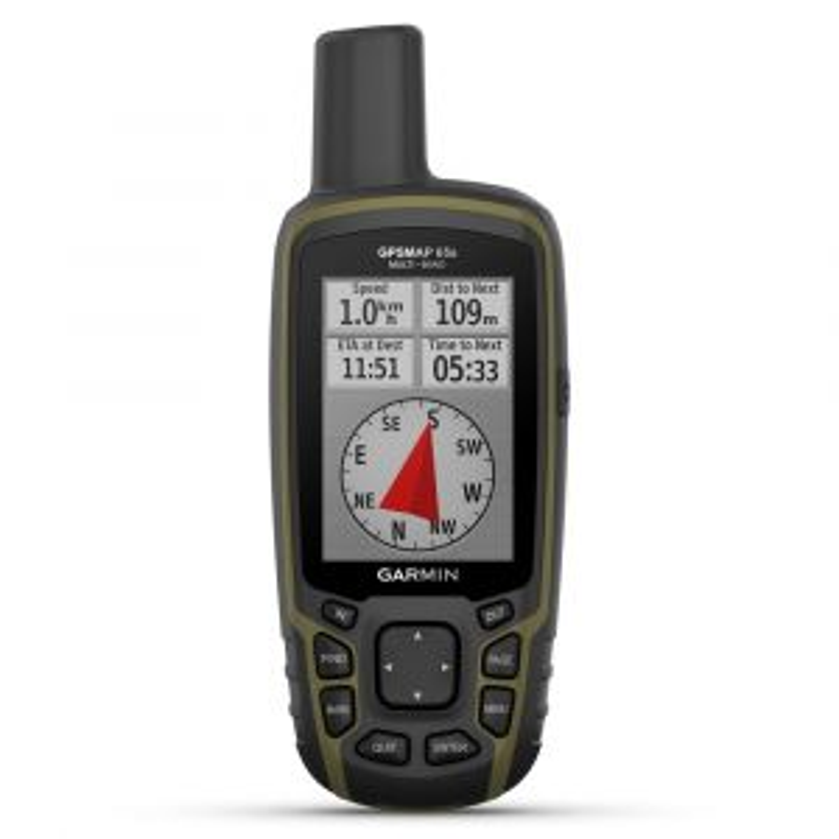 GPSMAP 65s GPS-Handgerät Outdoornavigationsgerät mit Höhenmesser und Kompass