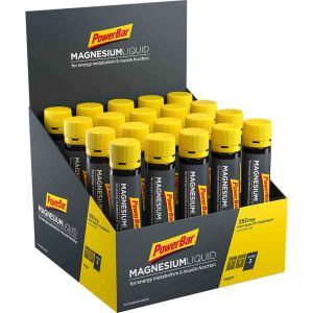 Magnesium Liquid Box 20x25ml - Mindesthaltbarkeit 30/04/2022
