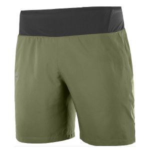 Xa 7'' Short Laufhose Herren Olive Night