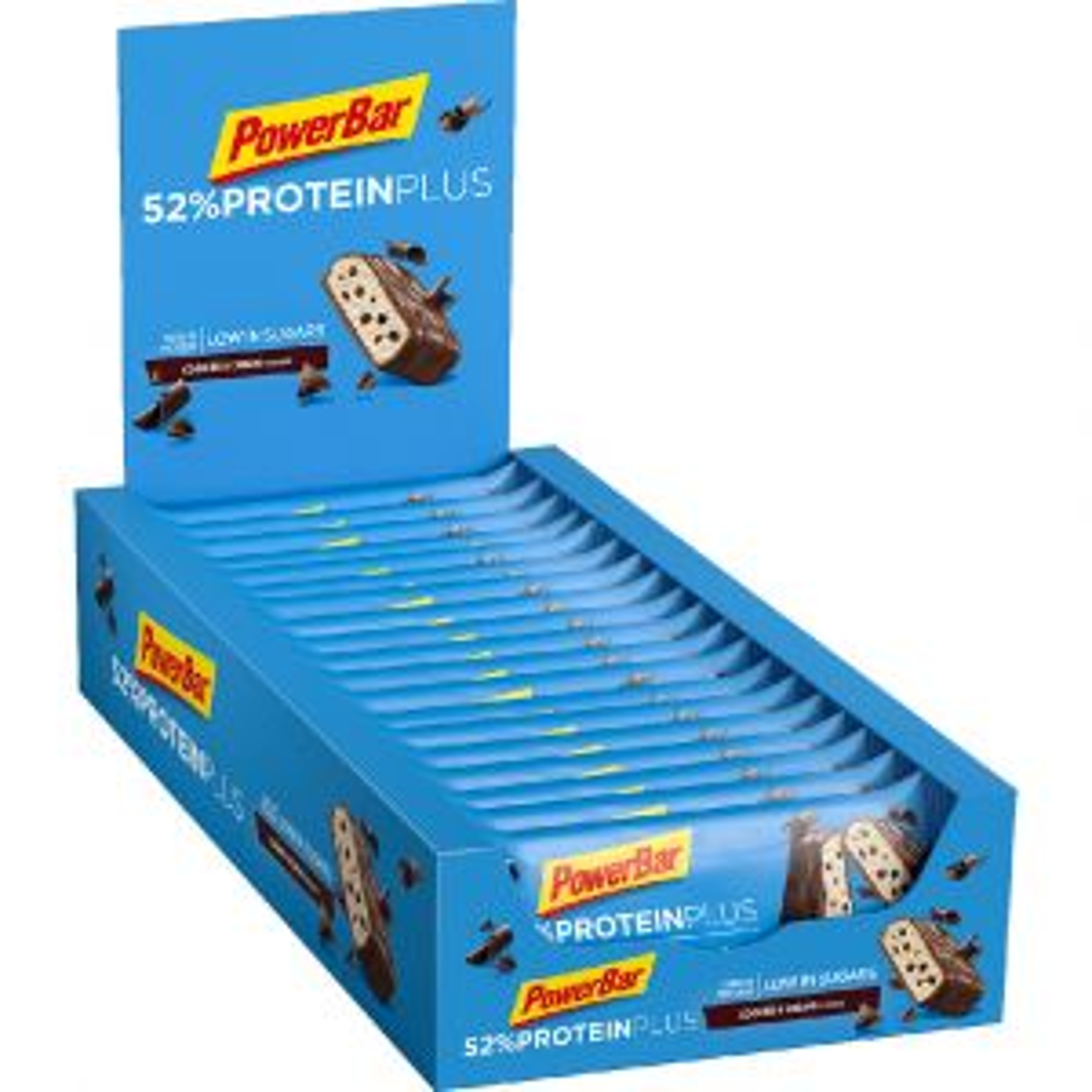 Protein Plus 52% Cookies Cream 20 x 50g - Mindesthaltbarkeit 28/02/2022