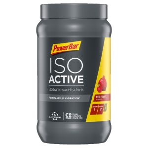Isoactive Isotonic Sports Drink 600g Dose red fruit punch- Mindesthaltbarkeit 31/12/2021