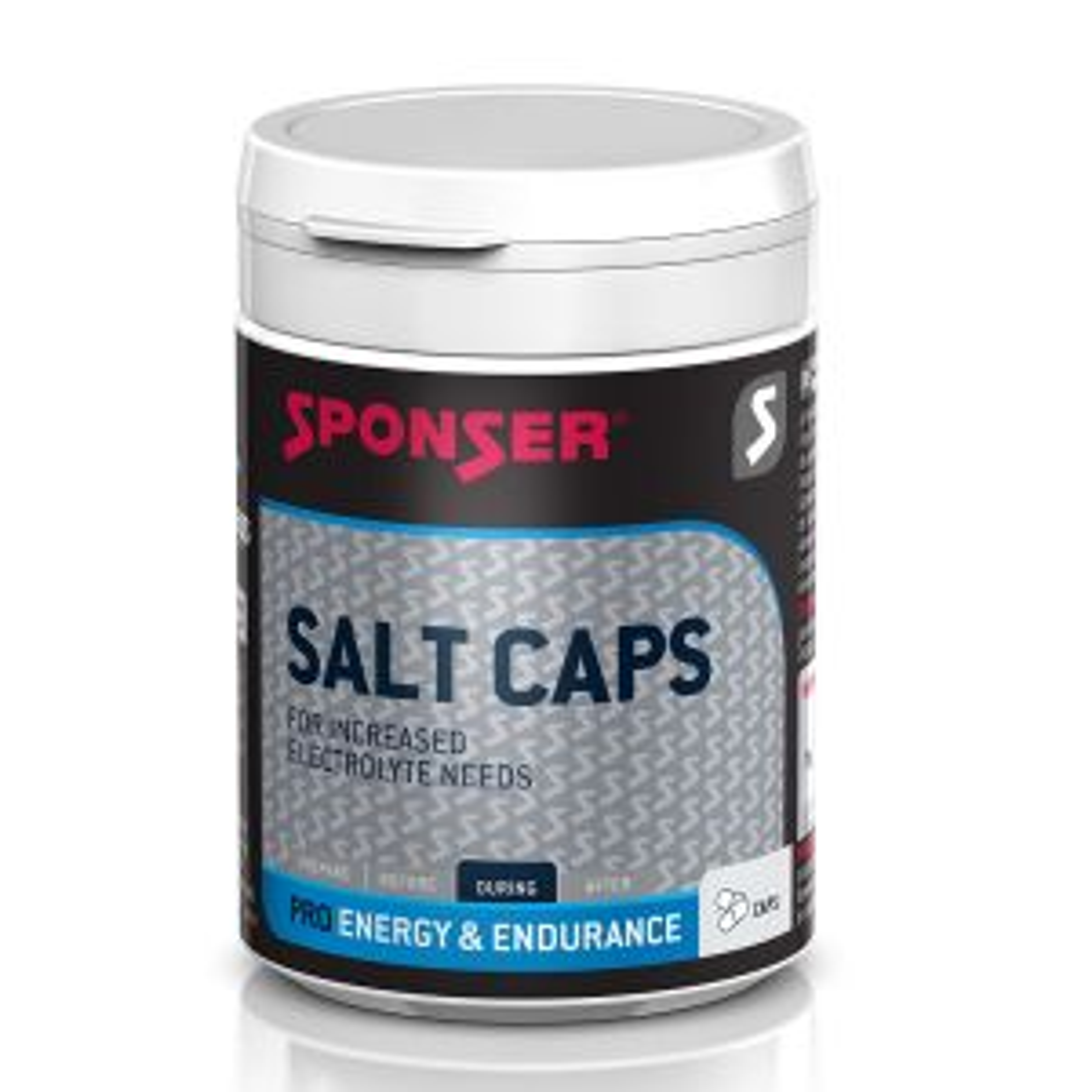 Salt Caps Elektrolytmischung mit 120 Kapseln - Mindesthaltbarkeitsdatum 03/2022