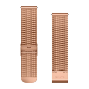 Schnellwechsel-Armband 20mm Milanaise-Rosegold