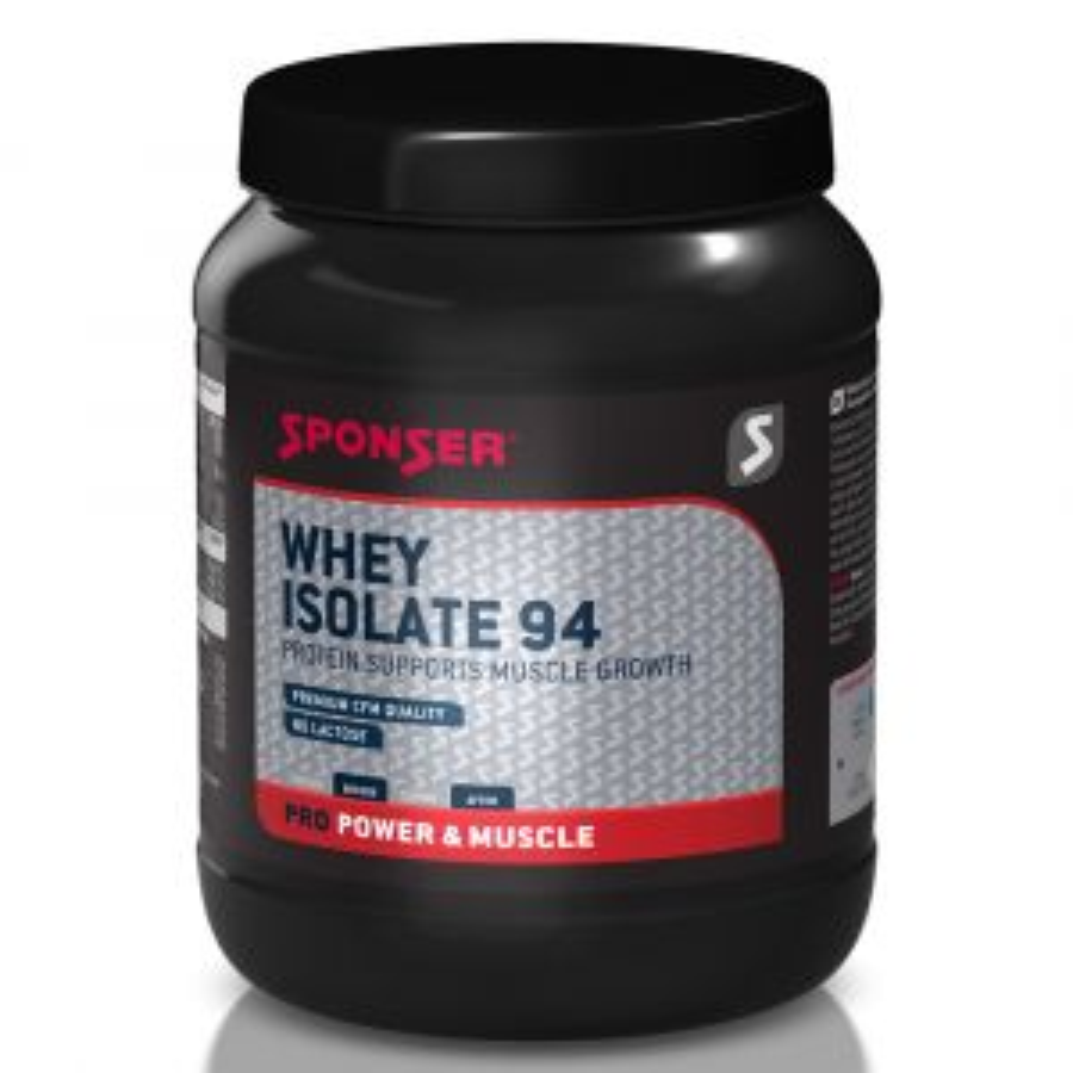 Whey Isolate 94 Molkenproteinisolat Eiweißpulver 425g Joghurt Zitrone - Mindesthaltbarkeitsdatum 09/2021