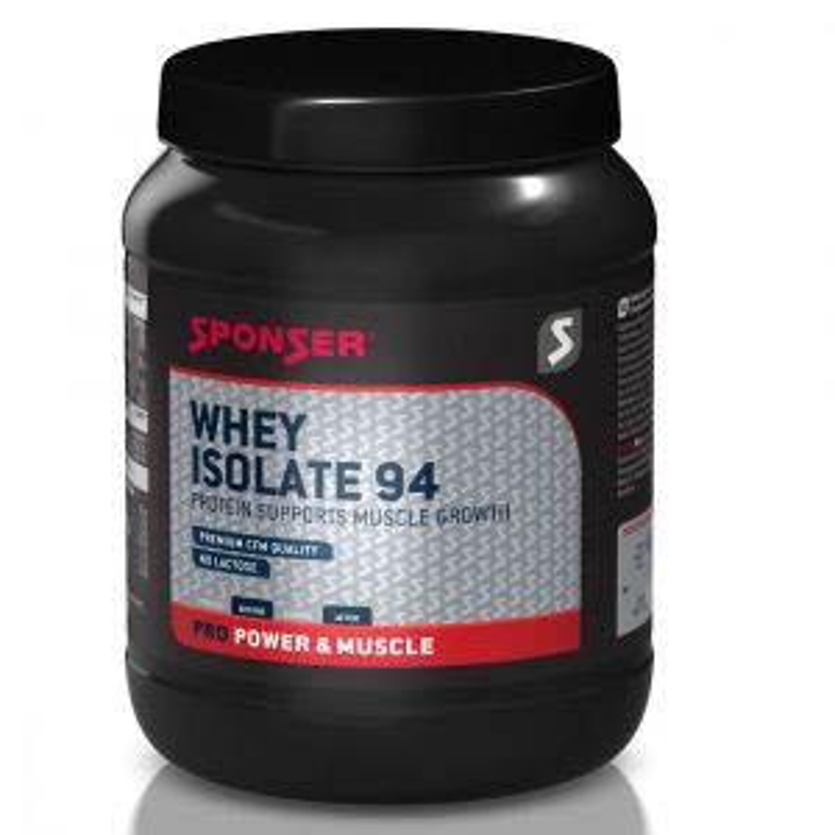 Whey Isolate 94 Molkenproteinisolat Eiweißpulver 1500g Banane- Mindesthaltbarkeitsdatum 06/2022