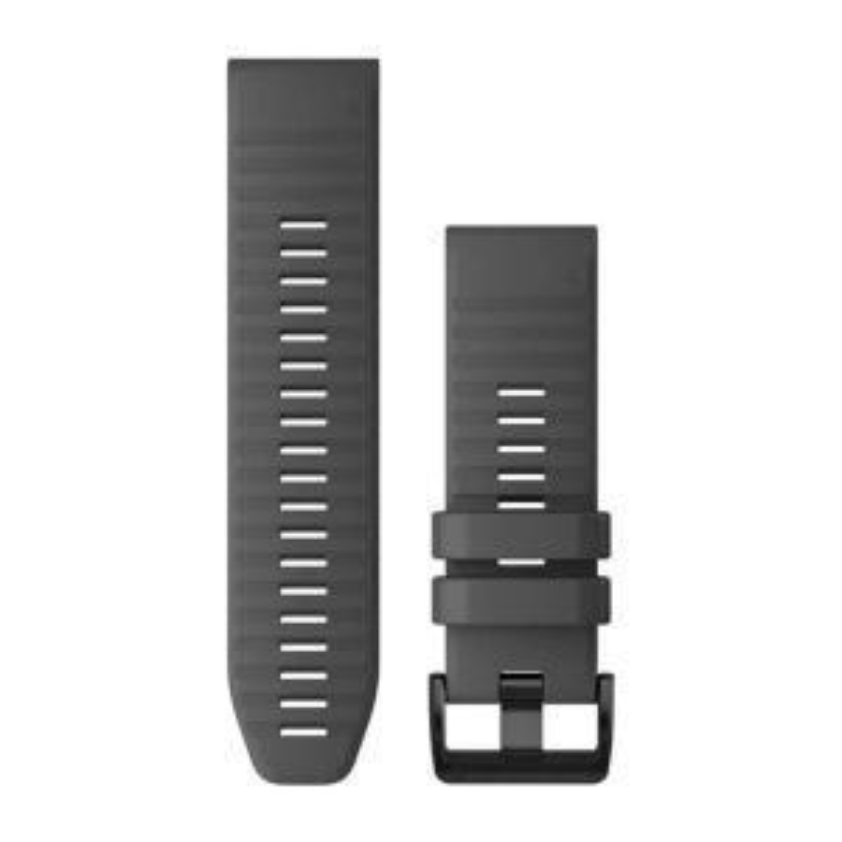 QuickFit-Armband 26mm schiefergraues Silikon