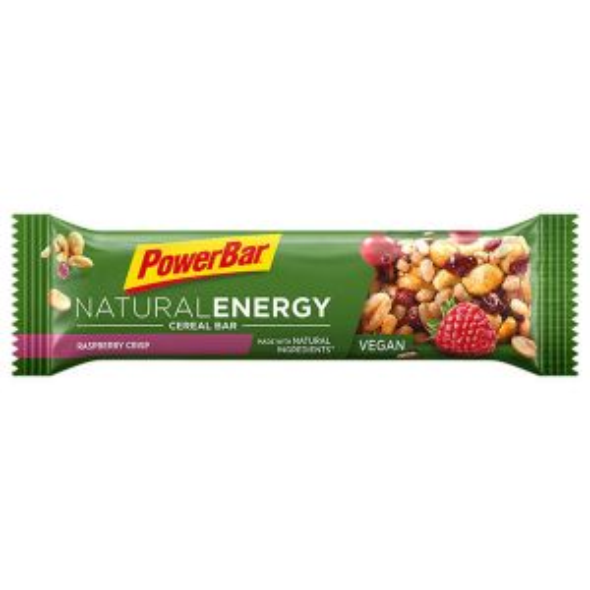 Natural Energy Cereal 40g Raspberry Crisp - Mindesthaltbarkeit 31/08/2021