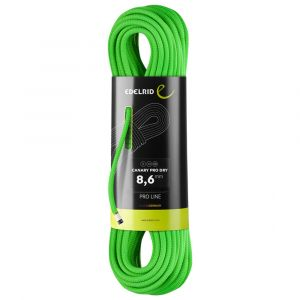 Canary Pro Dry 8.6 mm Kletterseil neon-green 60 m