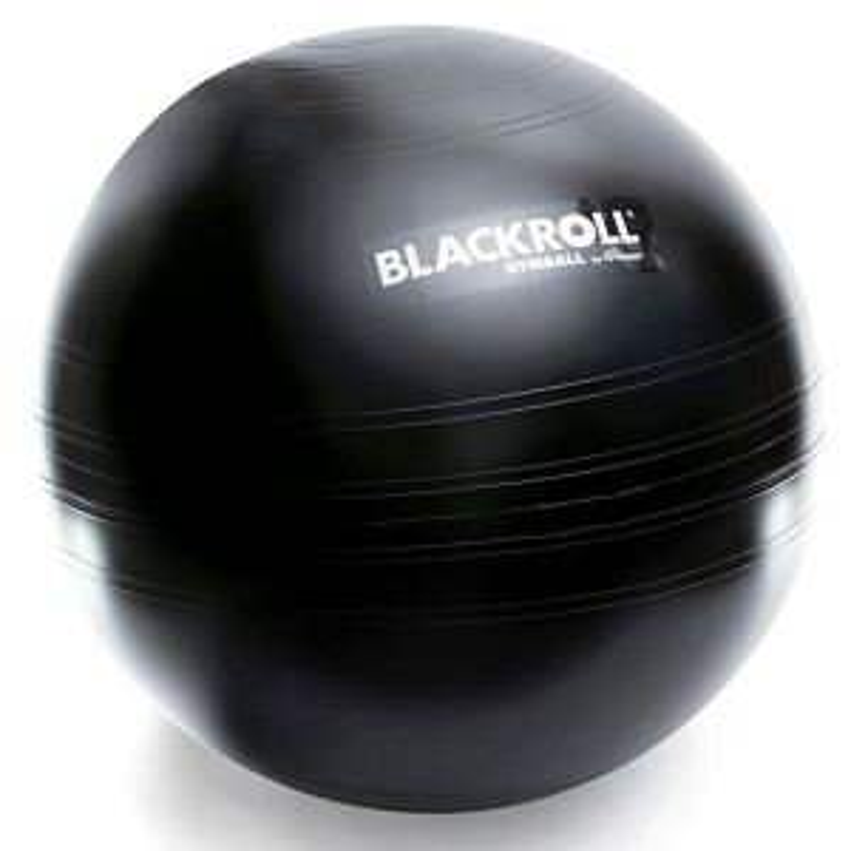 BLACKROLL Gymball 65 Gymnastikball schwarz