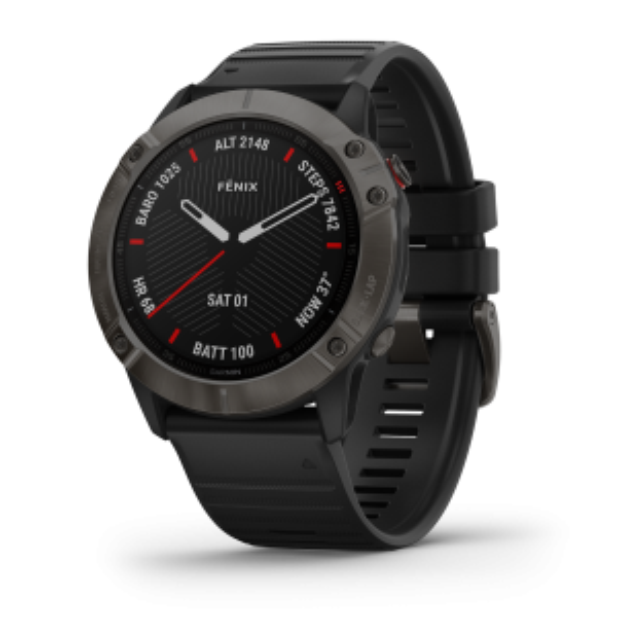 FENIX 6X Sapphire GPS Multifunktionsuhr Smartwatch Sportuhr