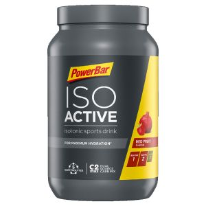 Isoactive Isotonic Sports Drink 1320g Dose red fruit punch - Mindesthaltbarkeit 31/03/2022