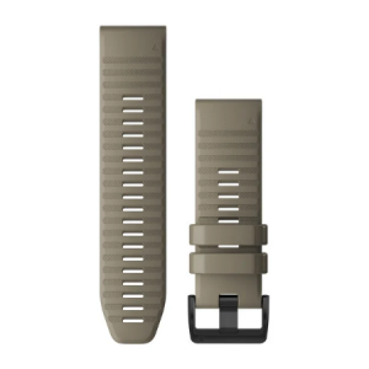 QuickFit-Armband 26mm Silikon/Dunkelbeige
