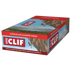 Clif Bar Energiegel Powerriegel Chocolate Almond Fudge 12 x 68g - Mindesthaltbarkeit 12/06/2021