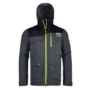 2L Swisswool Andermatt Jacket M  Black Steel