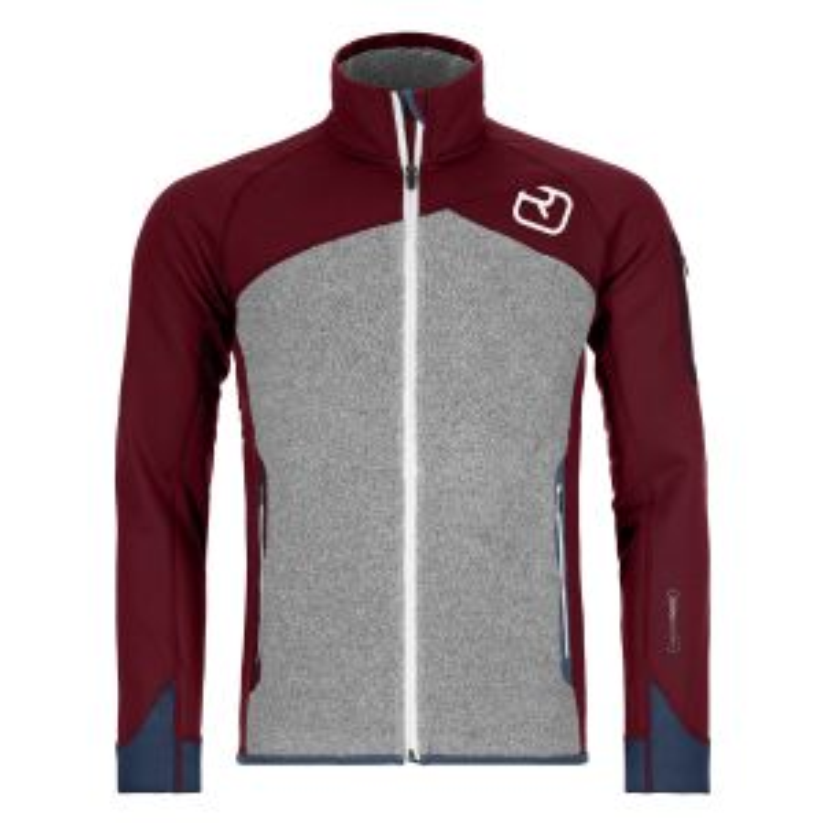 Fleece Plus Jacket M Dark Blood