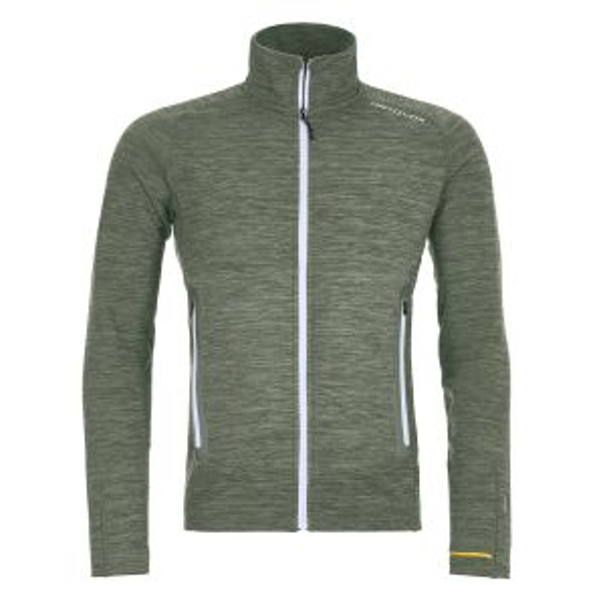 Fleece Light Melange Jacket M Green Forrest Blend