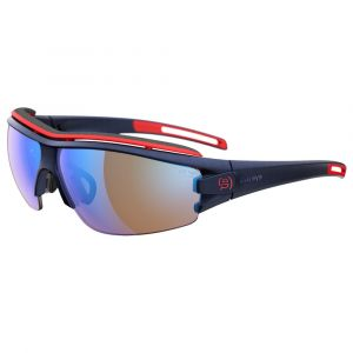 trace pro Sportbrille LST® Vario Verspiegelt Dunkelblau