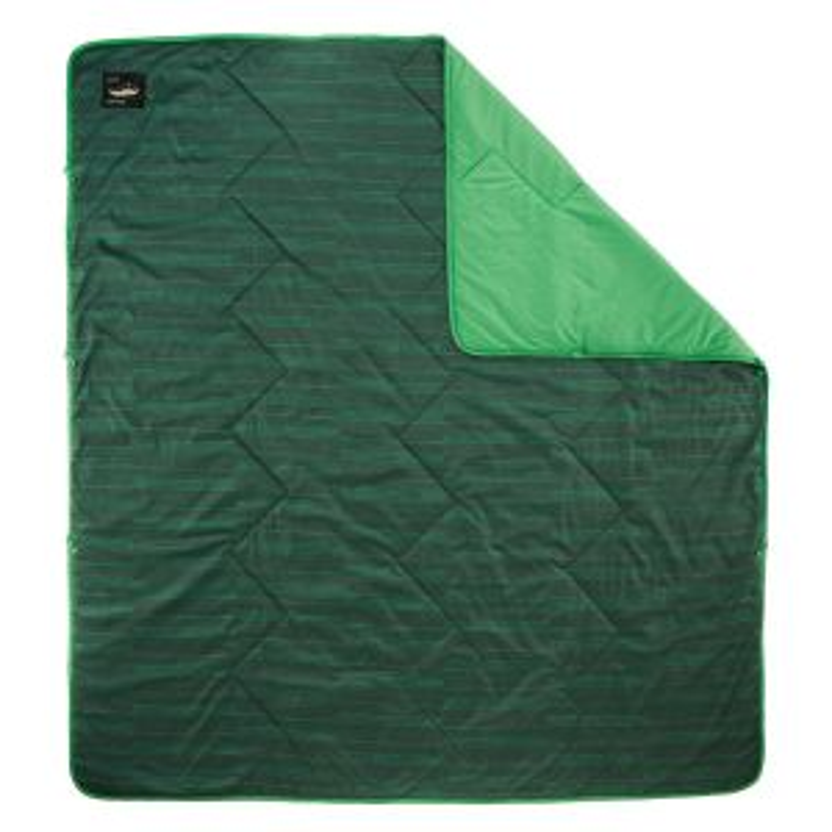 Argo Blanket Green Print