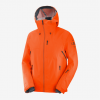 Outlaw 3L Shell Jacke M Red Orange/Ebony