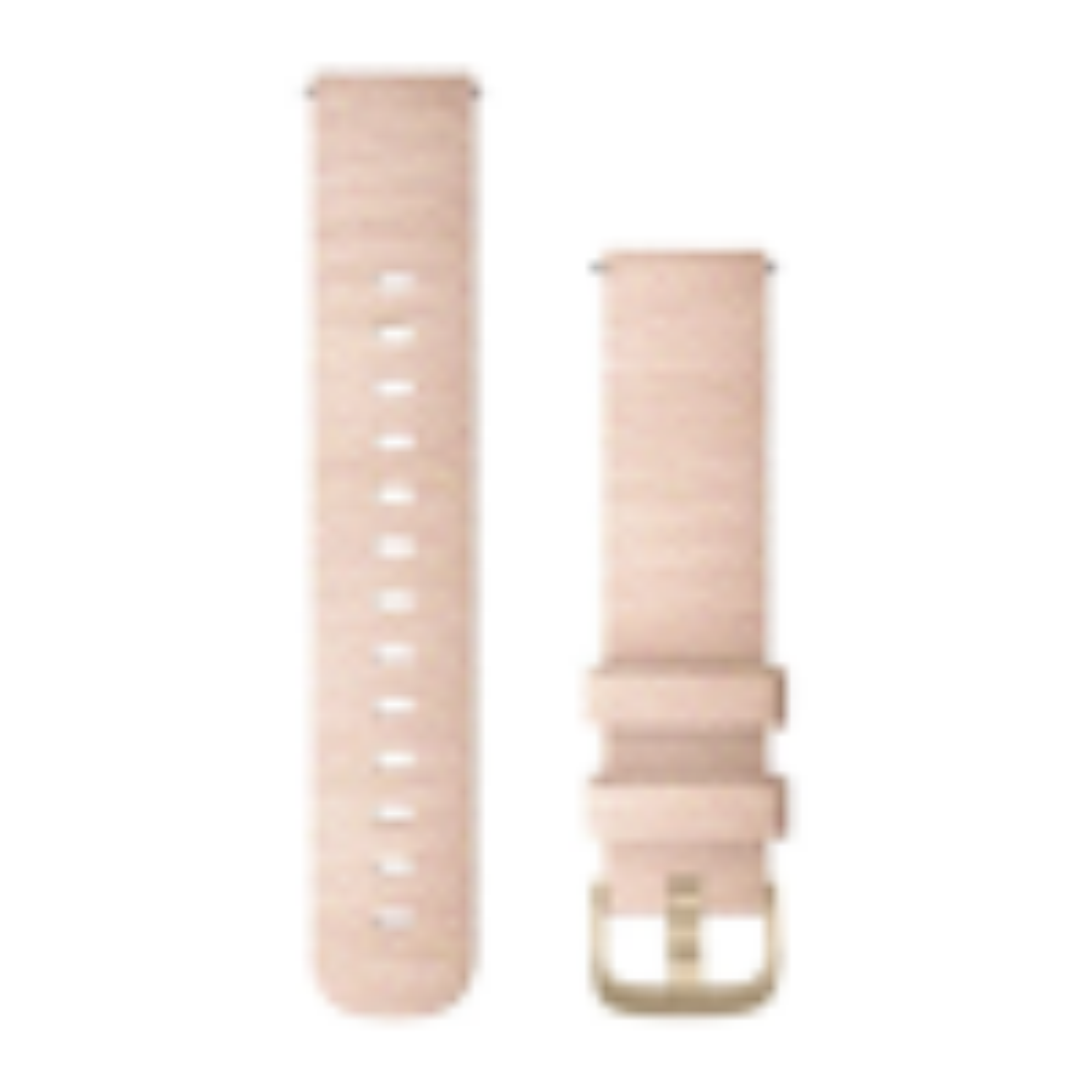 Schnellwechsel-Armband 20mm Nylon-Hellrosa