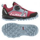 Terrex Agravic Boa K Shock Red / Cloud White / Ash Grey
