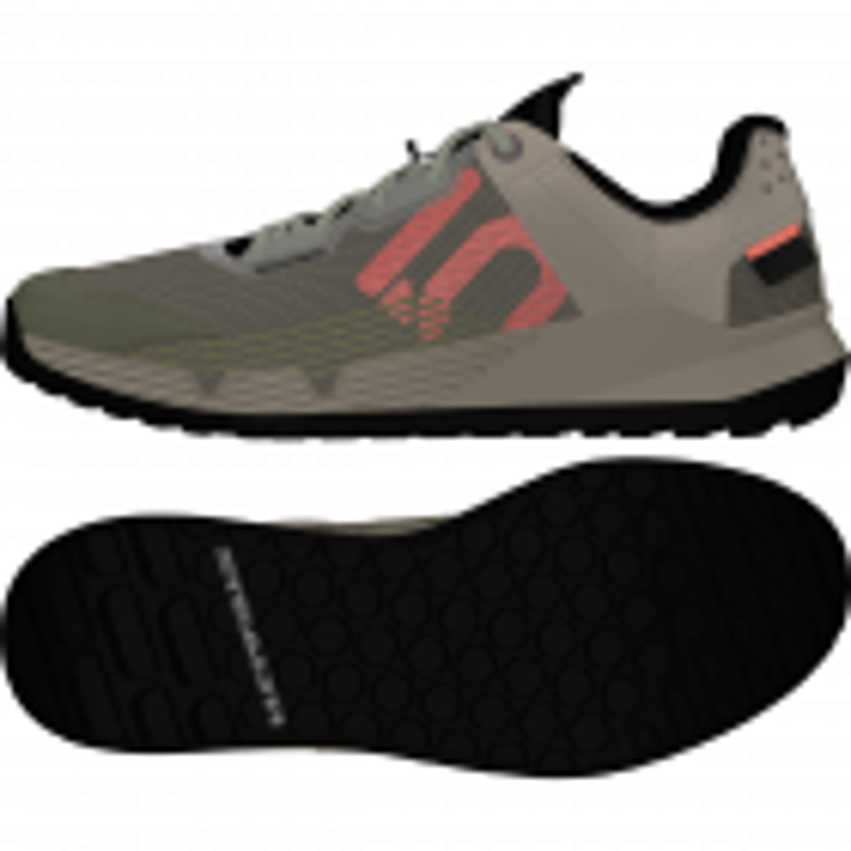 5.10 Trailcross LT Green/Signal Coral/Core Black