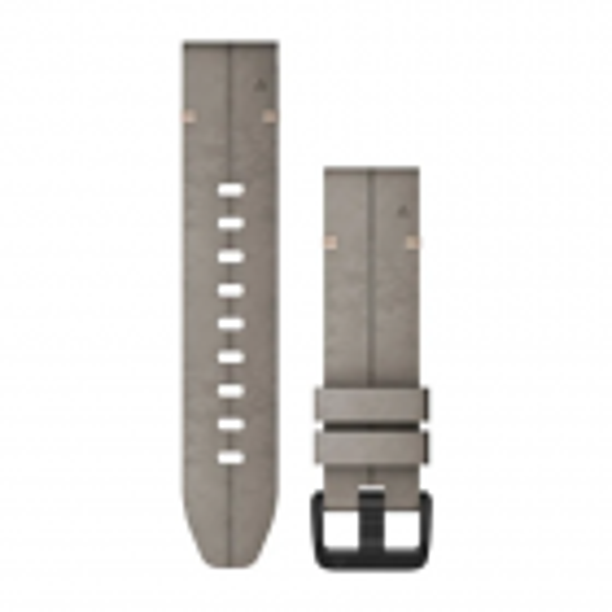 QuickFit-Armband 20mm Veloursleder-Dunkelgrau
