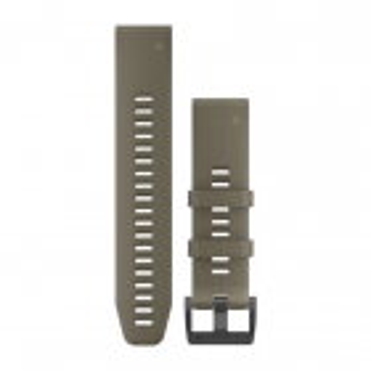 QuickFit-Armband 22mm Silikon-Hellbraun