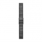 QuickFit-Armband 22mm Titan-Carbongrau