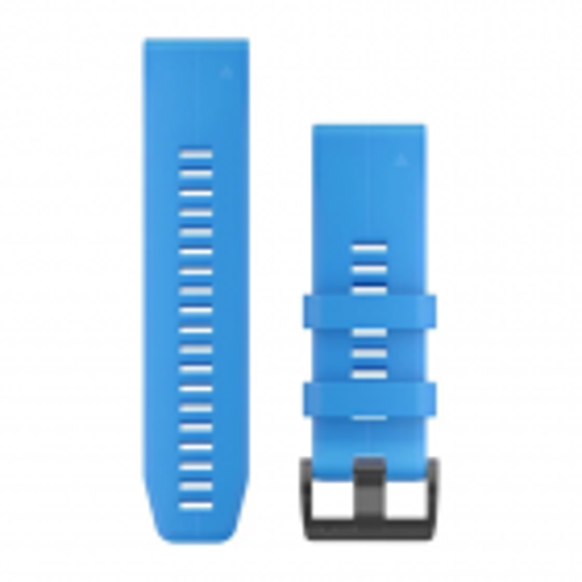 QuickFit-Armband 26mm Silikon-Cyanblau